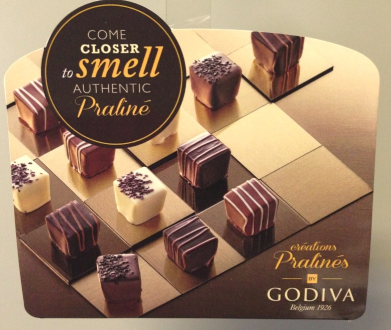 Godiva close  up
