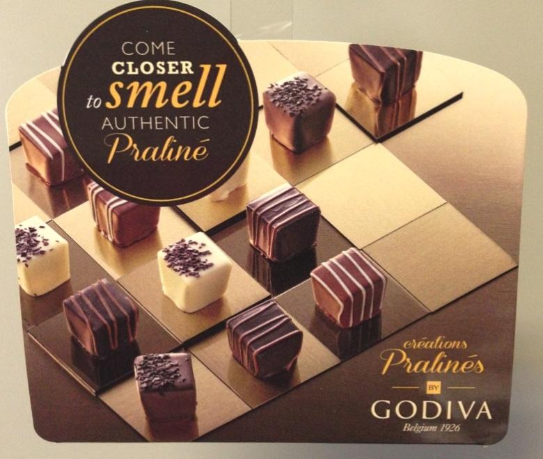 Godiva close  up