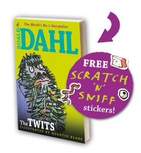 The Twits scratch 'n' sniff book