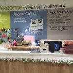 OS Pro in situ in Waitrose customer services desk.